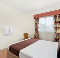 Cairns accommodation -Budget Double Room - Cairns Queens Court Hotel
