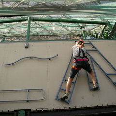 Strap up strap in for an exciting zip line at the Cairns Wildlife Dome