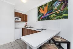 Studio Suite Kitchen - Reef Retreat Palm Cove Resort style accommodation