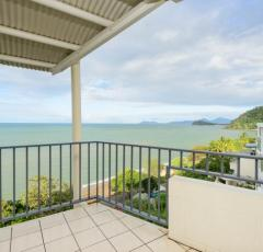 Stunning Ocean Views from Top View Rooms at Amaroo Trinity Beach