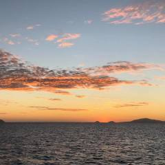 Charter Boats Cairns - Stunning Sunset | Overnight Cairns Private Charter Boat