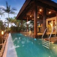 Stunning Tropical Swimming Pool with views -  17 Wharf Street Luxury Port Douglas Holiday Home