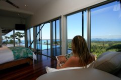Stunning views from the Bedrooms - Mission Beach Luxury Accommodation