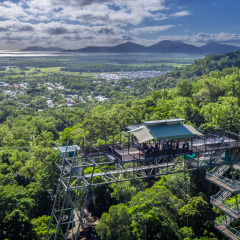 Stunning views from the top of the Bungy Jump tower | Bungy Jumping Cairns
