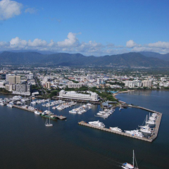 Stunning Views of Cairns from the Air