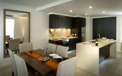 Stylish Kitchen & Dining Area
