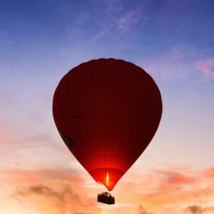 Sunrise hot air balloons Cairns