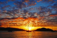 Sunset at Fitzroy Island Resort