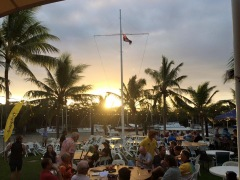 Sunset at Port Douglas Yacht Club
