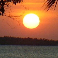 Sunset in Far North Queensland Australia