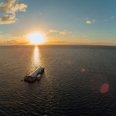 Sunset Over Moore Reef | Spend The Night On The Great Barrier Reef