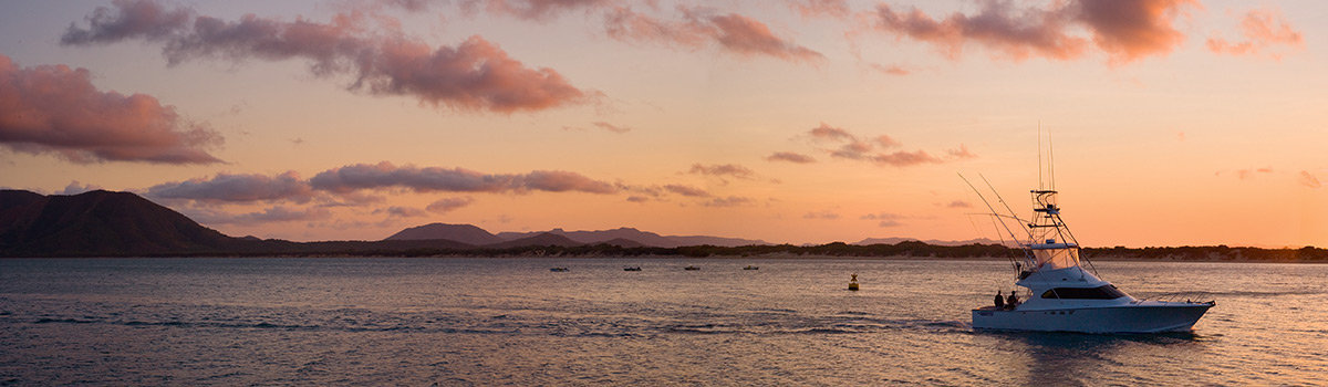 Sunset over the Great Barrier Reef from Cooktown