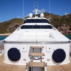 Private Charter Boat | Upper Fly Deck