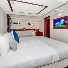 Superyachts Great Barrier Reef - Master Suite