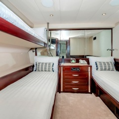 Superyachts Great Barrier Reef - Starboard Side Shared Cabin