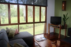 Enjoy the natural settings at Sweetwater Lodge Atherton Tablelands