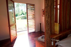 Entrance to your private Cottage - Sweetwater Lodge Atherton Tablelands