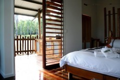 Looking Out to your private balcony - Sweetwater Lodge Atherton Tablelands