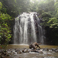 Swim in waterfalls and volcano craters on the Atherton Tablelands