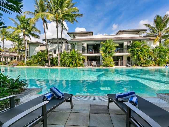 Swim Out Apartments are a popular accommodation choice within our Port Douglas Private Apartments Sea Temple