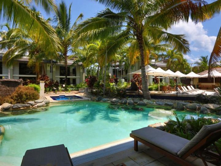 Sea Temple Resort Swim Out Room options available - Private Apartments within Sea Temple Port Douglas