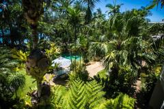 Swimming Pool amongst the tropical gardens - Palm Cove Holiday Apartments