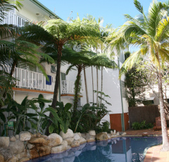 Swimming Pool at Coral Tree Inn Cairns Boutique Resort