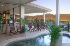 Swimming Pool at Day with Views over the Atherton Tablelands