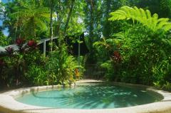 Swimming Pool at Heritage Lodge Spa Daintree