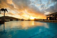 Swimming Pool at Sunset |  Daydream Island Resort, Great Barrier Reef