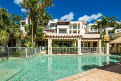 Swimming Pool overlooking Trinity Beach at Seachange Apartments Cairns' Beaches