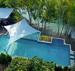 Swimming Pool with Spa & Kids Pool - Sanctuary Palm Cove Apartments