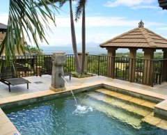 Swimming Pool with stunning Views over Palm Cove