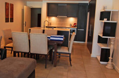 Resort Private Swimout Apartment Kitchen & Dining - Port Douglas holiday Apartments