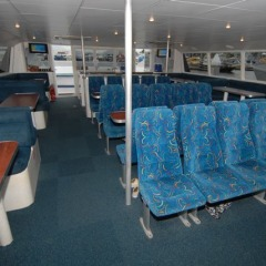 T6 boat interior | Great Barrier Reef Tour