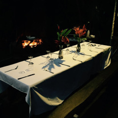 Table Set For Dinner | 11 Day Cape York Australian Safari