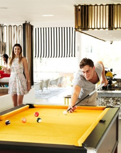 Table Sport For Teenagers and Adults | Snooker Table At QT Port Douglas Resort In Tropical North Queensland