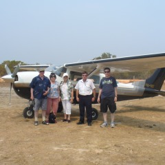 Cape York Tours | Take a selfie with your fellow air tour passengers in Cape York