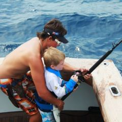 Take the family and enjoy a day of fishing & snorkelling