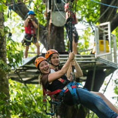 Take the Leap and Ride the Zipline - Daintree Cape Tribulation Ziplining Tour