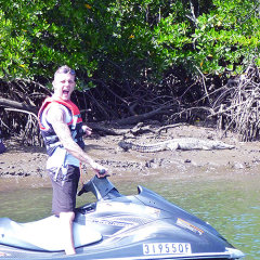Great Barrier Reef Tour | Tandem jet ski croc spotting tours Cairns