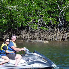 Great Barrier Reef Tour | Tandem jet ski tours Cairns Queensland Australia
