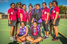 Teams at Cairns Masters Games