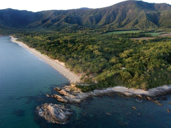 Rainforest Resorts Port Douglas - Thala Beach Nature Reserve - located on a secluded outcrop with ocean on three sides