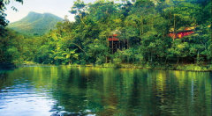 The beautilful Mossman River that runs beside our Daintree Rainforest Resort