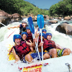 The best and most extreme white water rafting in Australi