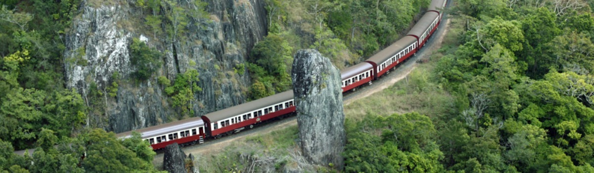 The cheapest Kuranda Skyrail & Train self Drive tour in Cairns