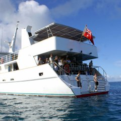 The most luxurious of liveaboard dive boats in Australia