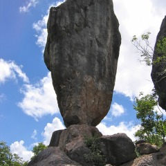 The Only Way To See Chillagoe Caves & Undara Lava Tubes In One Day | Balancing Rock Formation
