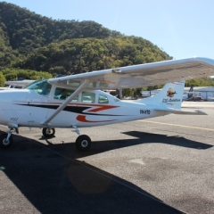 The Smallest Plan Of The Fleet | Cessna 206 | Maximum Capacity 5 Passengers | Great Value Reef Scenic Flight Ex Cairns